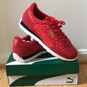 Puma Easy Easy Rider Lux (High Risk Red) US 9
